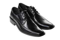 Schwarze Schuhe Lizenzfreies Stockfoto