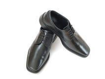 Schwarze Schuhe. Lizenzfreies Stockfoto