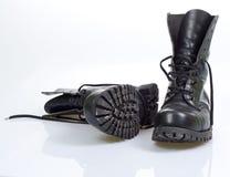 Schwarze Schuhe Stockfotos