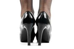 Schwarze Schuhe Stockbilder