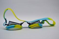 Schwarze Schutzbrillenahaufnahme stockbild
