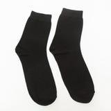 Schwarze Socken Lizenzfreies Stockfoto