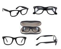 Schwarze Sonnenbrillen stockfotos