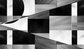 Schwarze Stahltapete Lizenzfreies Stockbild