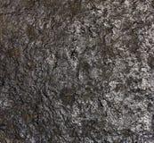Schwarze Steinbeschaffenheit Lizenzfreies Stockbild