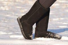 Schwarze Stiefel Stockbilder