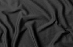 Schwarze Stoffbeschaffenheit und -hintergrund lizenzfreies stockbild