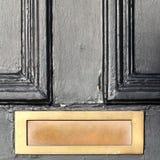 Schwarze Tür Lizenzfreie Stockfotografie