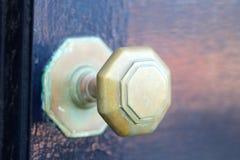 Schwarze Tür Lizenzfreies Stockbild
