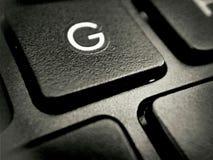 Schwarze Tastatur Lizenzfreie Stockfotografie