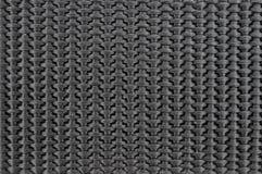 Schwarze Textilbeschaffenheit Stockfotografie