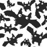 Schwarze Tinte schlägt Muster Lizenzfreies Stockfoto