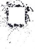 Schwarze Tintenpunkte lizenzfreie stockfotografie