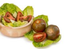 schwarze Tomaten stockfotos
