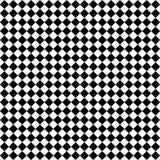 Schwarze u. weiße Diamant-Checks Lizenzfreies Stockbild