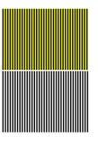 Schwarze und gelbe Streifen Lizenzfreie Stockfotografie
