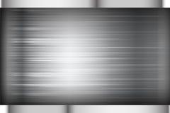 Schwarze und graue Hintergrundbeschaffenheits-Vektorillustration des dunklen Chroms stock abbildung