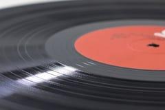 Schwarze Vinyloberfläche Stockbilder
