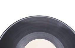 Schwarze Vinylplatte Lizenzfreies Stockbild