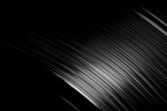 Schwarze Vinylplatte Stockfotografie