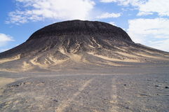 Schwarze Wüste Stockbilder