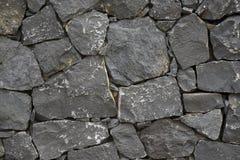 Schwarze Wand Lizenzfreies Stockbild