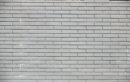 Schwarze Wand des Ziegelsteines Stockbild