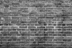 Schwarze Wandziegelsteinhintergrund-Beschaffenheitsoberfläche stockfotos
