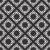 Schwarze weiße Wiederholungsdesigne des Vektors lizenzfreie stockbilder