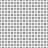 Schwarze weiße Wiederholungsdesigne des Vektors Stockbild