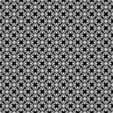 Schwarze weiße Wiederholungsdesigne des Vektors Stockbilder