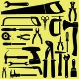 Schwarze Werkzeuge Vektor Abbildung