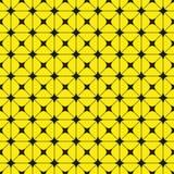 Schwarze Zahlen auf einem gelben Hintergrund Abstrakte Zusammensetzung Auch im corel abgehobenen Betrag stock abbildung