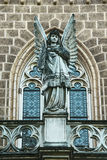Schwarzenberg坟茔-细节,天使的雕象 库存图片