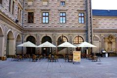 Schwarzenberg宫殿,布拉格,捷克 库存照片