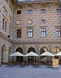 Schwarzenberg宫殿,布拉格,捷克 免版税库存图片
