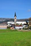 Schwarzenberg am Boehmerwald, Oostenrijk Stock Foto's