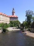 Schwarzenberg castle stock photography