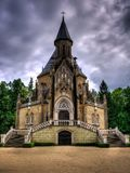 Schwarzenberg historical tomb in Domanin, South Czech Stock Images