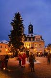 Schwarzenberg julmarknad 01 Fotografering för Bildbyråer