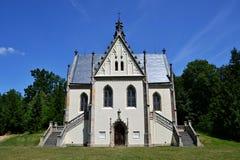 Schwarzenberg sepulcher κοντά σε Orlik Στοκ Εικόνες