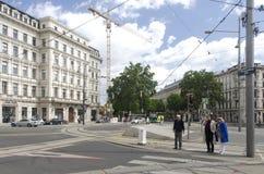 Schwarzenbergplatz, Vienna Stock Photos
