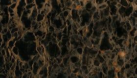 Schwarzer Ader-Marmor-Stein Stockbild