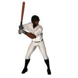 Schwarzer Baseball-Teig Lizenzfreies Stockfoto
