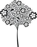 Schwarzer Baum Lizenzfreie Stockbilder
