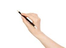 Schwarzer Bleistift Lizenzfreie Stockfotos