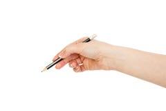Schwarzer Bleistift Stockfoto