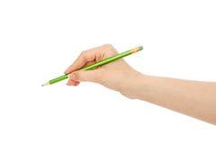 Schwarzer Bleistift Lizenzfreies Stockfoto
