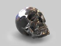 Schwarzer Crystal Skull 1 vektor abbildung