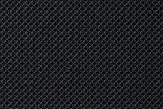 Schwarzer dunkler Hautbeschaffenheits-Lederhintergrund Stockfotos